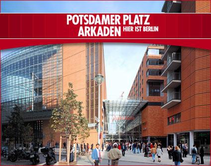 Potsdamer Platz Shopping Arkaden Shopping Center Möbeleinrichtungen